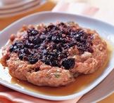 橄欖蒸肉餅