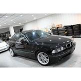 年終下殺出清優惠! BMW E39 525I 黑色 實車實價14.8萬 內裝漂亮底盤扎實 E46 W203 A4 ES