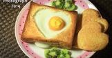 情人節愛心早午餐