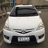 降價。馬自達五 Mazda 5. 2009年 自售 後出風口 天窗全自動 白色 自用車 中部