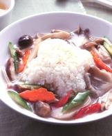 鮮菇蔬燴飯