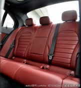 [速度國際]正17 C300 AMG 頂級真皮紅內裝電尾門選配9氣囊!未領牌跑少