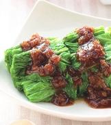 香蔥燙青菜
