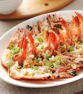 清蒸蒜泥蝦