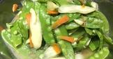 👩🏻🍳荷蘭豆炒筊白筍-家常菜搭配
