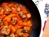 簡易家常菜食譜 - 南瓜燜排骨
