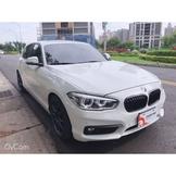 2015 BMW 118I 白色1.6