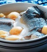 蒜子燉鰻魚