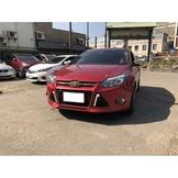 【FB搜尋新桃園阿承】福特 超人氣FOCUS柴油 2013年 2.0 紅色 二手車 中古車