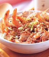 金銀蒜鮮蝦煲飯