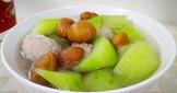 黃瓜栗子丸子湯