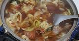 鴨頭炒高麗菜
