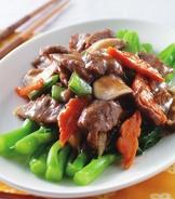 蠔油芥蘭牛肉