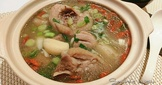 韓式風味人蔘糯米雞湯(簡易電鍋版)