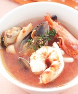 法式蕃茄海鮮湯