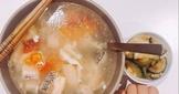 生酮-番茄鮭魚豆腐蛋花湯
