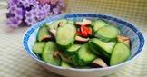 小黃瓜炒鮮香菇