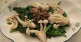 [好菇多多] 菇菇拌芥藍菜
