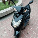 2010 YAMAHA  二代 新勁戰 125 飛炫踏板 黑色