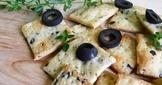黑橄欖薄餅