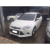 【FB搜尋桃園阿承】福特 超人氣FOCUS 2013年 1.6 白色 二手車 中古車