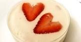 情人節的草莓生乳酪塔