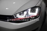 威德汽車 HID 福斯 GOLF 7 七代 GTI 樣式 大燈 總成 DRL LED 日行燈
