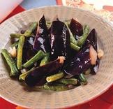 茄子炒菜豆