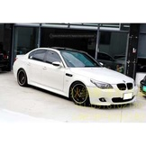04年 BMW E60 520改530手牌 白