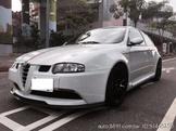 (車主自售)正2003年Alfa 147GTA 特殊稀有水晶白 全車全新改裝品