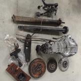 已售出 短期不再進貨 W124 E220 230E專用717.413 賓士手排變速箱整套