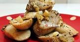 蒜香馬告杏鮑菇(無鹽。5分鐘)