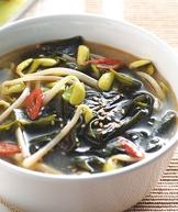 海帶黃豆芽湯