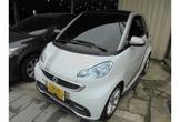 SMART/司麥特 FORTWO 62KW 48萬 白銀色 2013