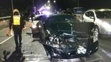 去年控「新店戰神」違法搜索 這次疑毒駕猛撞三車
