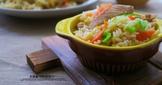 高麗菜雞肉炒飯(低卡高纖)