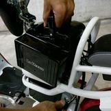 電動腳踏車 (801),電池可以拔