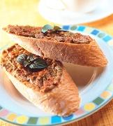 烤茄醬法國麵包