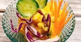 夏日輕食。南瓜蛋沙拉