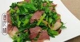 奶油臘肉炒豆苗 ♥ 臘肉不只是年菜 8