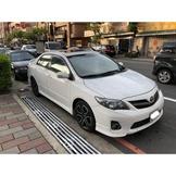 【FB搜尋桃園阿承】豐田 超人氣ALTIS 2012年 1.8 白色 二手車 中古車