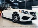 賓士Benz C300 AMG 19吋AMG鋁圈全景天窗 keyless go