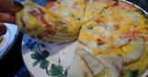 用蛋做的比薩-起司馬鈴薯西班牙厚煎蛋餅