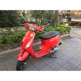 偉士牌方頭S125(紅)