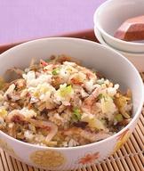 櫻花蝦菜飯
