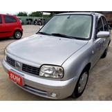 2007年出廠領牌 NISSAN MARCH 1.3 銀 只開9萬!全車無待修~車況極優!
