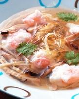 魚翅蝦仁羹