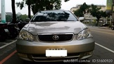 車主自售TOYOTA  03年式 Altis 銀色 1.8 天窗E版  無待修
