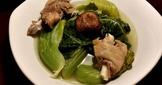 鴨肉長年菜湯
