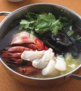 港式香菜皮蛋鍋